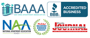 Proud Members of BAAA, BBB, NAA, FLCAJ Readers Choice, and Florida Journal Community Association