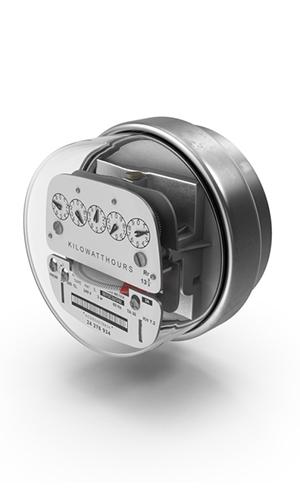 Electric meter photo