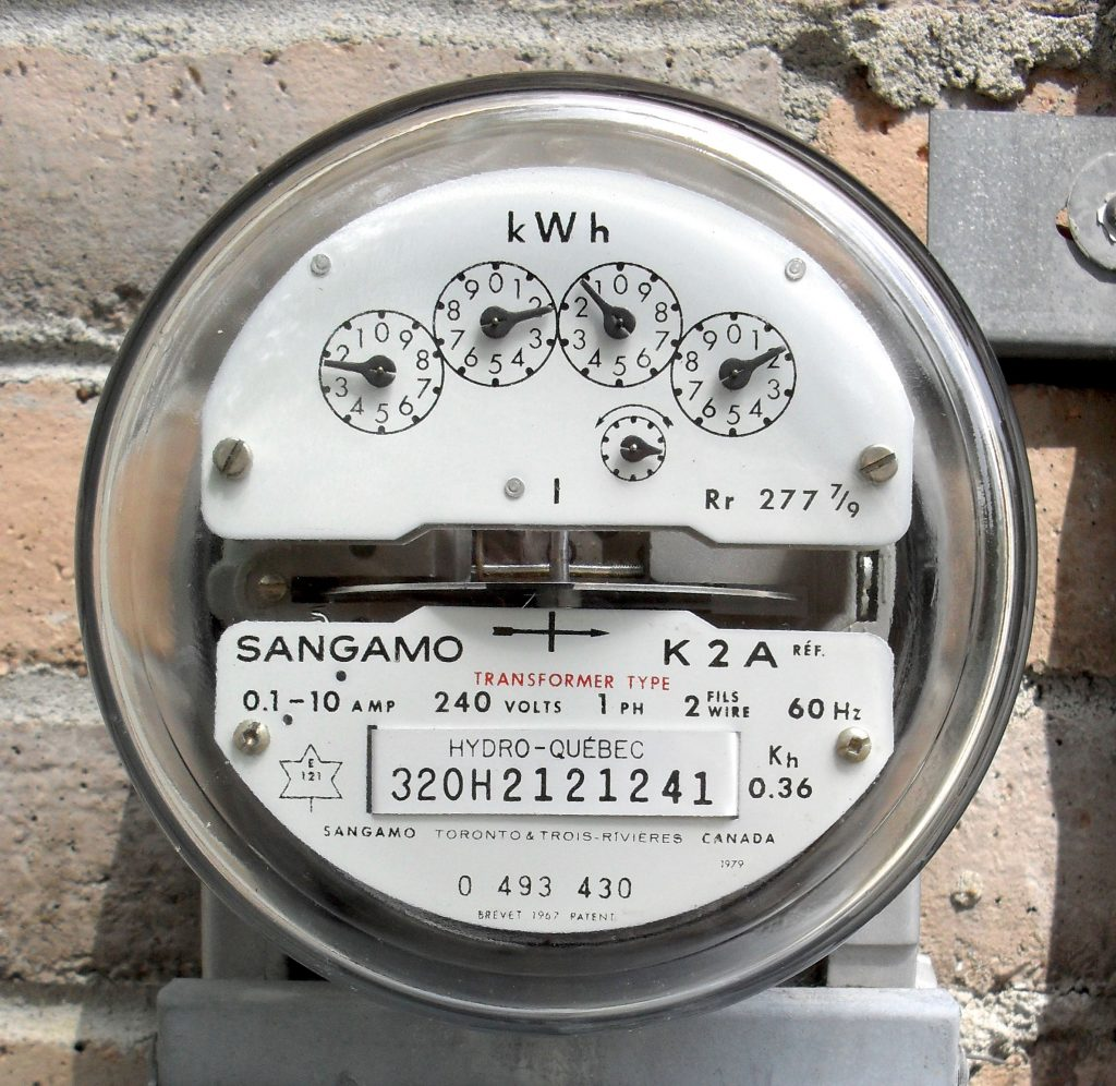 how to calculate electric submeter